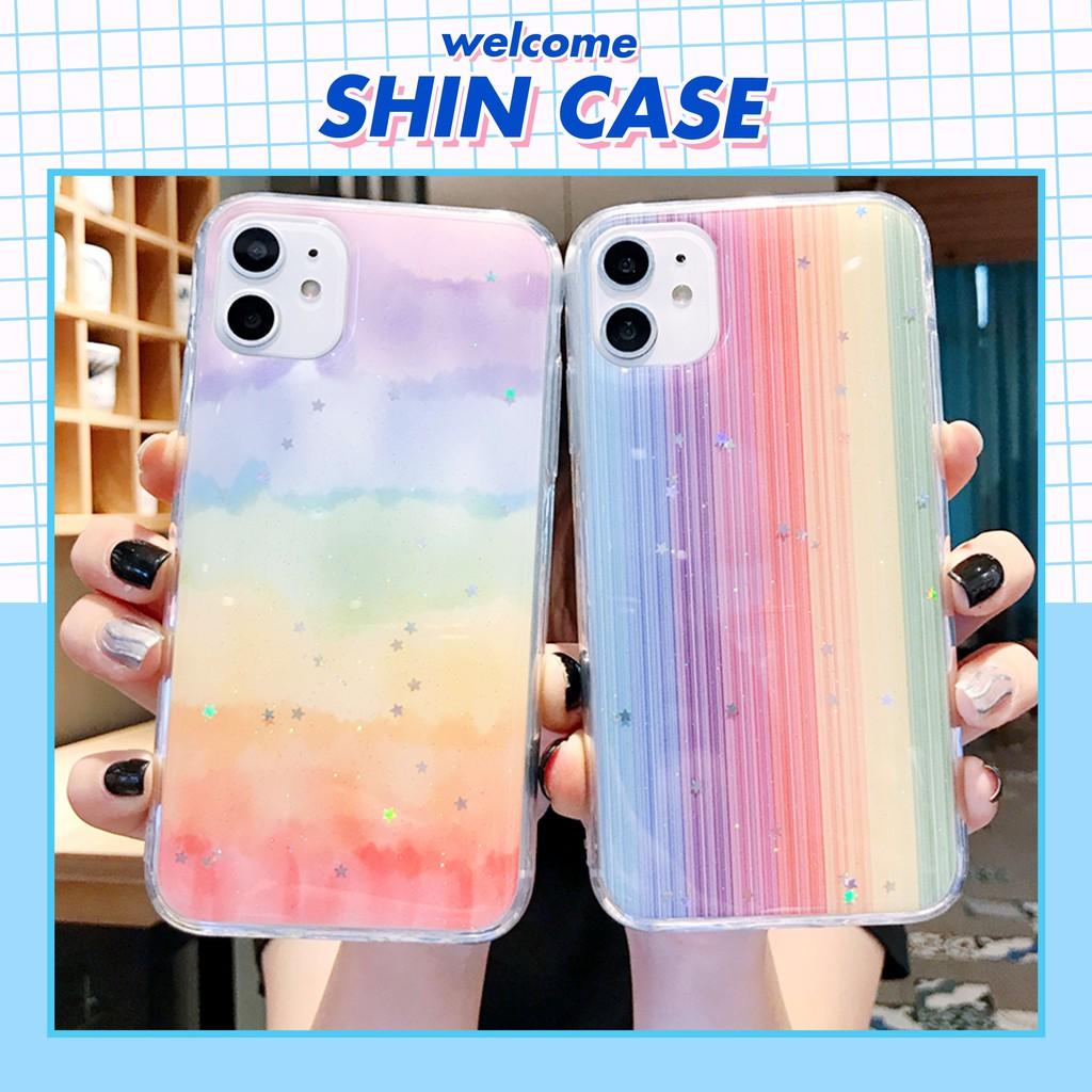 Ốp lưng iphone Rainbow 5/5s/6/6plus/6s/6s plus/6/7/7plus/8/8plus/x/xs/xs max/11/11 pro/11 promax/samsung – Shin Case