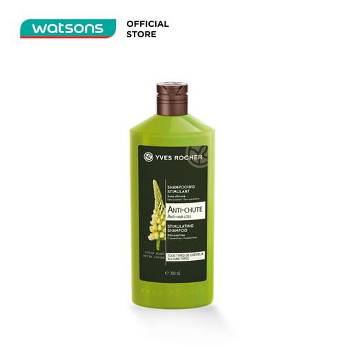 Kết quả hình ảnh cho Dầu Gội Giảm Rụng Tóc Yves Rocher Stimulating Shampoo