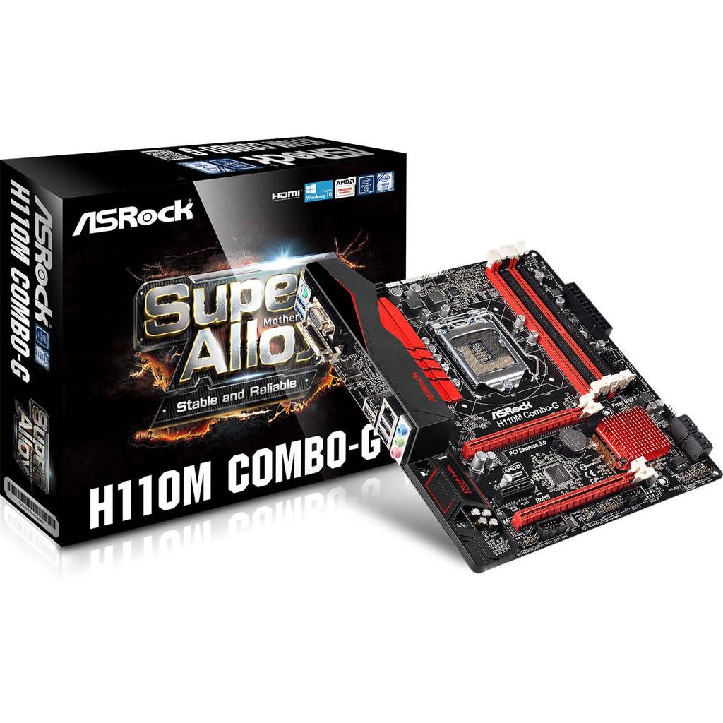 LGA1151 - H110 | Motherboard ASRock H110M Combo-G