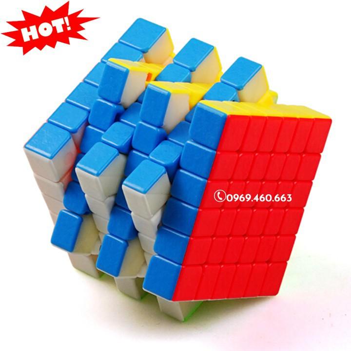Rubik 6x6 đẹp xoay trơn không kẹt rít độ bền cao.