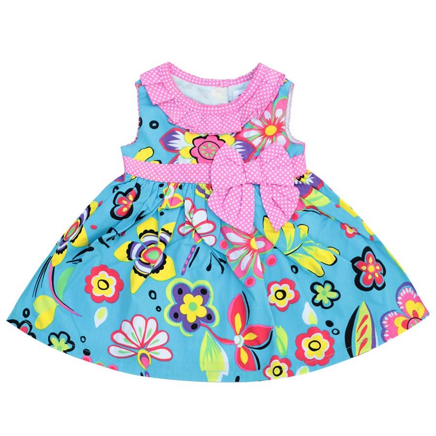 Đầm bé gái DA0708 V36 - HELLO B&B