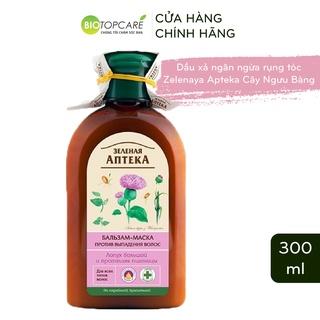 Dầu xả chống rụng tóc Zelenaya Apteka cây ngưu bàng và protein lúa mì 300ml - BioTopcare Official thumbnail