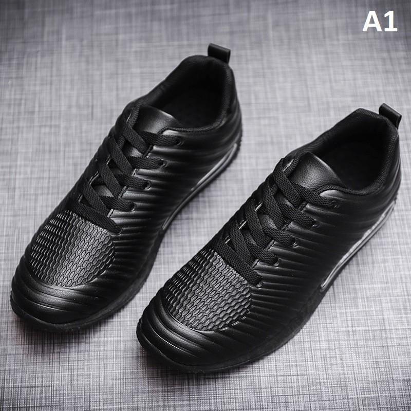 Giày sneaker nam chống nước chống bám bẩn fom nhỏ đặt tiến lên 1 size