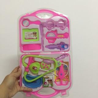 [HCM] Bộ đồ chơi vali bác sĩ 14 món an toàn dành cho bé trai bé gái (có sỉ)