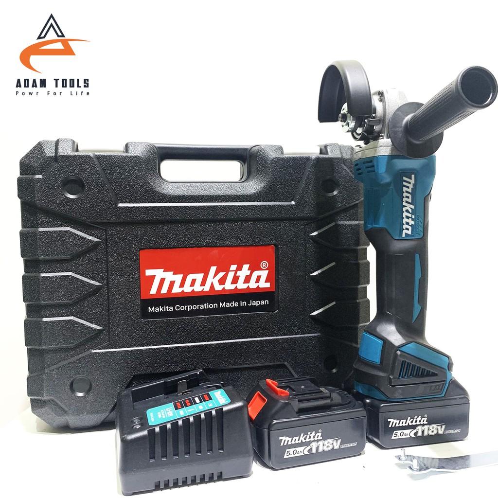Máy mài, máy cắt dùng pin không chổi than Makita - 2 pin 118V