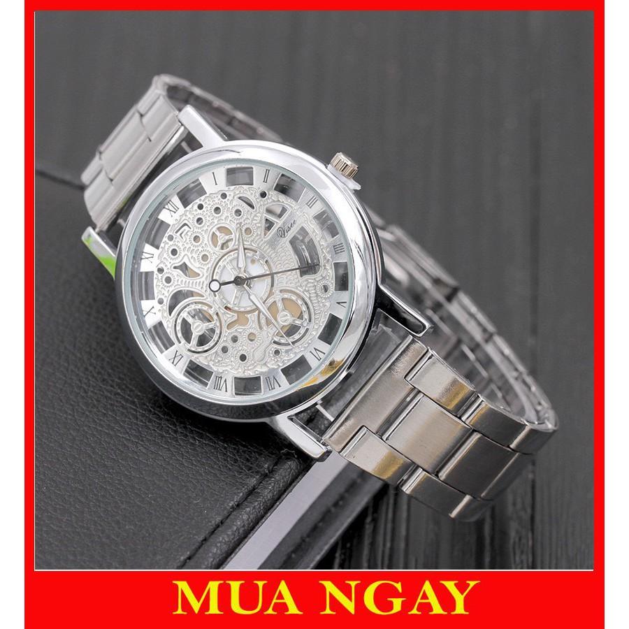Đồng hồ nam cao cấp Modiya dây kim loại sang trọng DH102