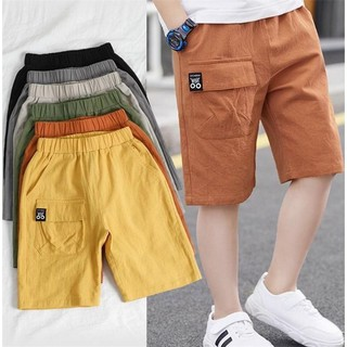 Boy Shorts Summer 2021 New Thin Section Of The Big Children Summer Sports Tooling Five-Point Korean Version Of The Yangz