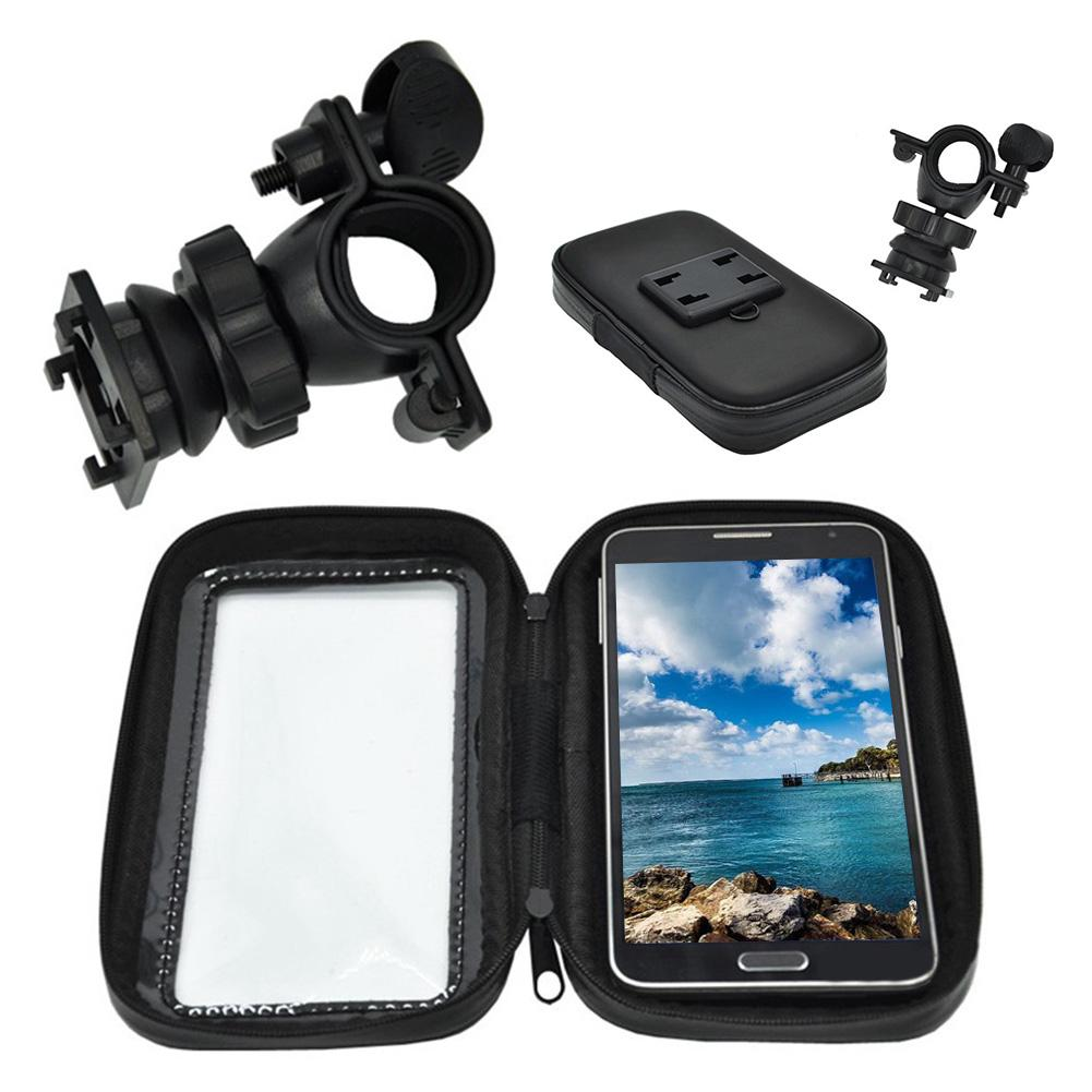 Waterproof Phone Bag Motorcycle Bike Bicycle Handlebar Mount Holder Case For CellPhone Supporter Accessroies