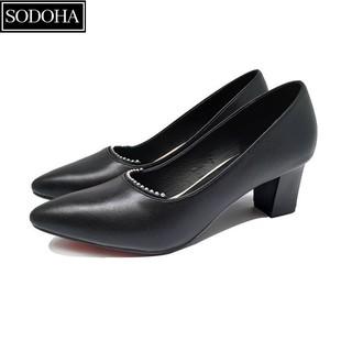 Giày Cao Gót Nữ Đính Cườm SODOHA SDH-1568B thumbnail
