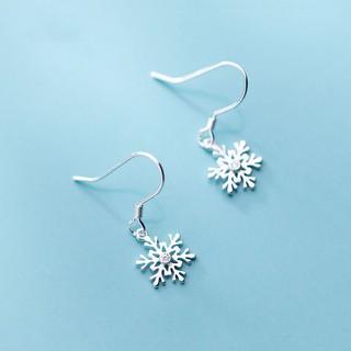 Hình ảnh [Mã FABR33 giảm 15% tối đa 50K đơn từ 150K] Bông tai bông tuyết xinh xắn cho nữ B2620 - Bảo Ngọc Jewelry-0