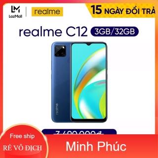 [Mã ELMSHX03 hoàn 6% xu đơn 2TR] Điện Thoại Real-me C12 (3-32G)