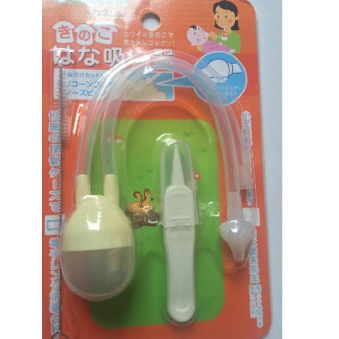 Dụng cụ hút mũi Kichilachi an toàn cho bé