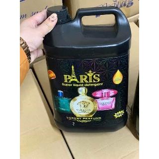 Nước giặt Paris hương nước hoa can 5 lít.