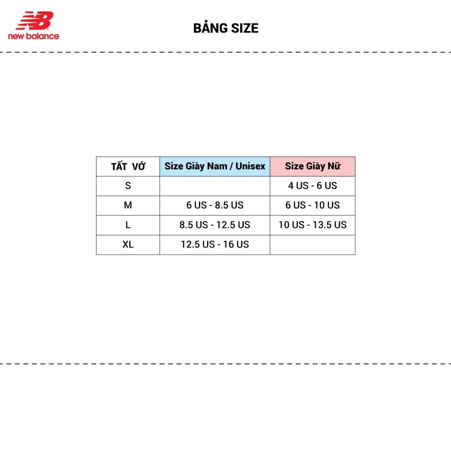 Vớ thể thao Unisex New Balance - LAS03223BK