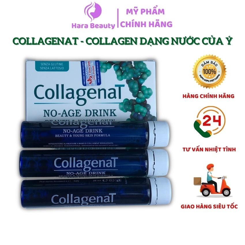Collagenat Hara Beauty Collagen nước ĐẸP DA, nước uống collagen trắng da dạng peptide giúp da mịn màng ngăn lão hoá