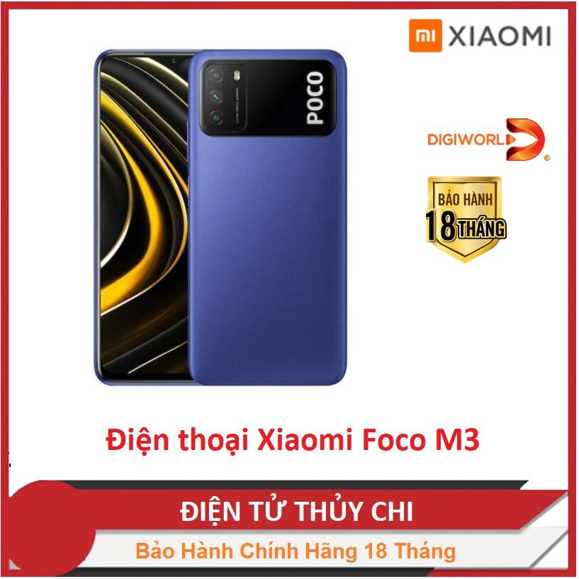 Điện thoại Xiaomi POCO M3 - HÀNG CHÍNH HÃNG Phân Phối Của Digiworld !