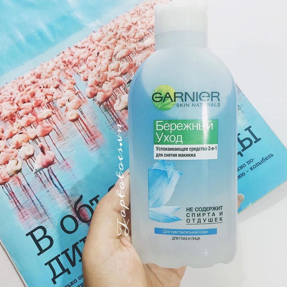 Tẩy trang oil Garnier 2 in 1