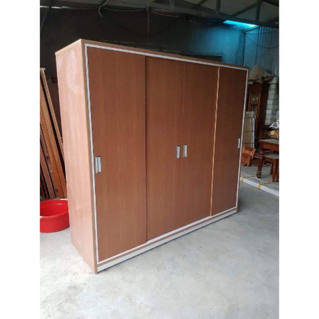 Tủ nhựa cánh lùa mẫu TL73 kt 185*200 Nội thất phòng ngủ