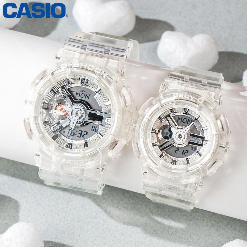 Đồng hồ dây nhựa Casio Baby-G Nữ BA-110CR-7A chính hãng bảo hành 5 năm Pin trọn đời