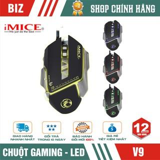 Chuột gaming có dây iMICE V9 (Best choice of Gamers) Led đổi màu Độ nhạy max 3200 DPI thumbnail