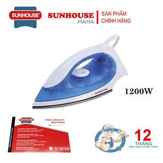 Bàn là khô Sunhouse SHD1072 ( Màu Xanh + Hồng ) – Bảo hành 12 tháng