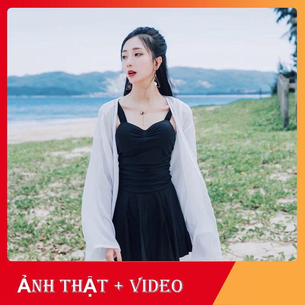 (ẢNH THẬT + VIDEO) ÁO CHOÀNG ĐI BIỂN VOAN MỎNG SIÊU XINH HOT 2019