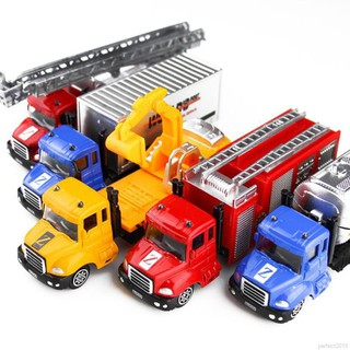 ✨ perfect ❀ Mining Car Truck Toys Gift Vehicles Alloy Engineering Car Toys