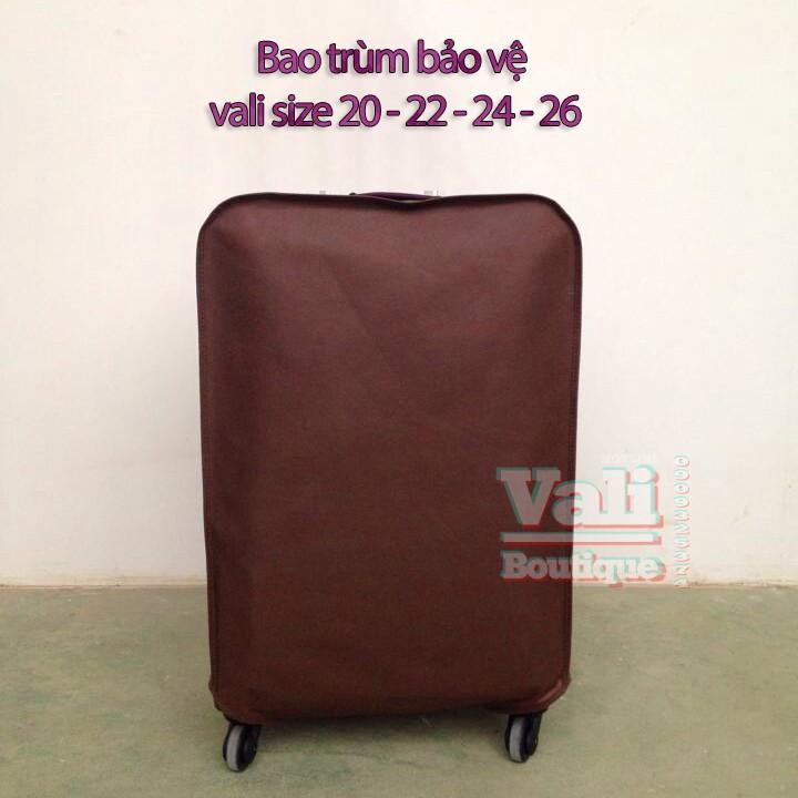 SALE MẠNH - Bao bọc bảo vệ vali - Nâu size 20-22-24-26