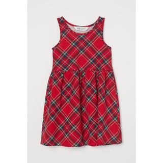 Váy caro đỏ HM H&M _ hàng chính hãng Anh