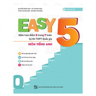 Sách - Easy 5 Nắm Trọn Điểm 5 Trong 7 Tuần thumbnail