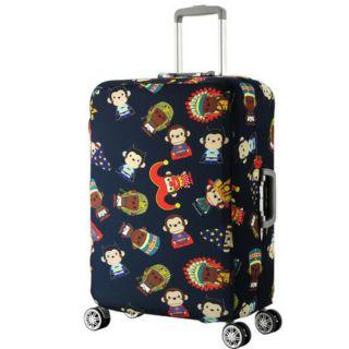 Túi bọc bảo vệ vali hình khỉ vải thun co giãn 4 chiều thumbnail