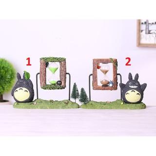 Đồng hồ cát trang trí để bàn anime Totoro