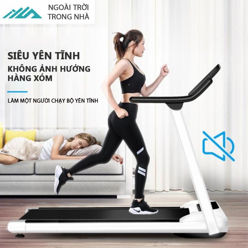 Máy chạy bộ máy tập gym, dụng cụ thể thao, máy tập thể thao có thể gấp gọn 2.0 mã lực, yên tĩnh chống xóc chống rung