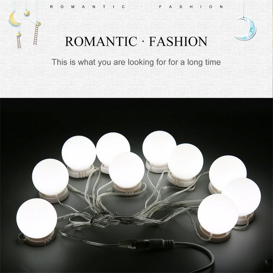 Bóng đèn LED yks trang trí cho gương trang điểm có cổng sạc USB giảm chỉ  còn 230,000 đ