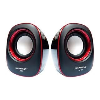 Loa máy tính Soundmax A130 2.0 Đỏ