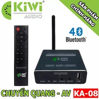 [Mã ELMS5 giảm 7% đơn 300K] Bộ Chuyển Đổi Âm Thanh Digital Sang Analog Và Phát Bluetooth 4.0 Kiwi KA08