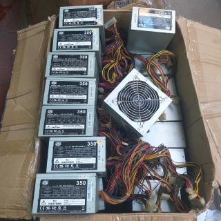Nguồn máy tính công xuất thực 350w fan 12 sạch đẹp như ảnh đã tet