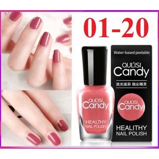 Sơn móng tay Candy màu từ 01 đến 20
