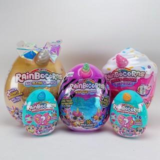 Đồ Chơi Trứng Kì Lân RainBocorns Chính Hãng Siêu Hot - Giant Eggs With Unicorn Horns (Bên trong là gấu bông) thumbnail