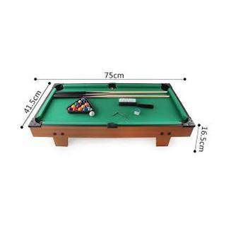 (GIẢM 40K PHÍ SHIP) Trò chơi bàn bida bằng chất liệu gỗ có 16 traí bóng siêu đẹp, thích hợp cho bé trai và gái 3 tuổi