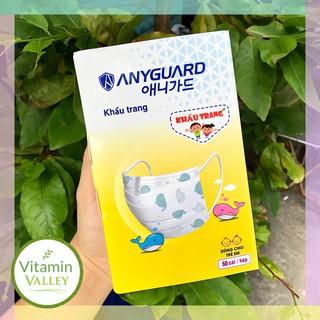 (KHÔNG VIỀN) Khẩu Trang Y Tế Cao Cấp Dành Cho Trẻ Em ANYGUARD thumbnail