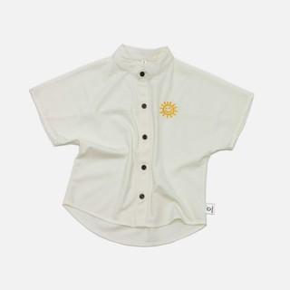 [Mã TREND20 giảm 15% đơn 99K] Áo sơ mi phong cách hàn quốc chất liệu linen lụa cao cấp màu trắng Michley