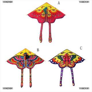 【YUANZHEN1】Huge 90cm Butterfly Kite Single Line Novelty Animal Kites Children'