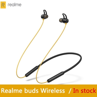 OPPO Realme Buds Wireless Bluetooth 5.0 Magnetic Connection With Mic For realme X X2 X2 Pro thumbnail