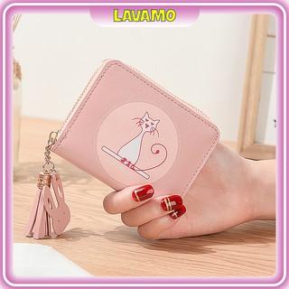 Ví nữ mini dễ thương ngắn cầm tay nhiều ngăn nhỏ gọn bỏ túi thời trang cao cấp VD141 thumbnail