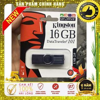 [Mã ELFLASH5 giảm 20K đơn 50K] USB 16G Kingston Chính hãng FPT