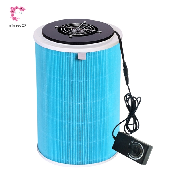 DIY Mute HEPA Air Purifier for Smoke Odor Dust Formaldehyde Remove Chinese Regulation