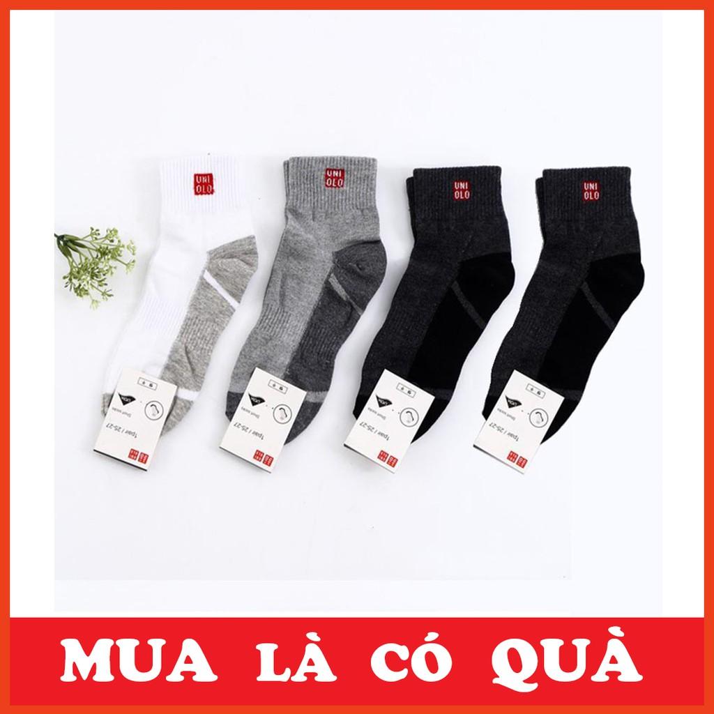[HOT DEAL] Combo 10 đôi tất nam Uni cổ trung