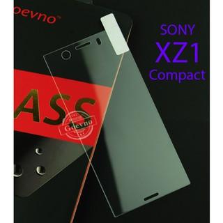 Cường lực Sony Xperia XZ1 Compact full keo siêu trong (hình thật)