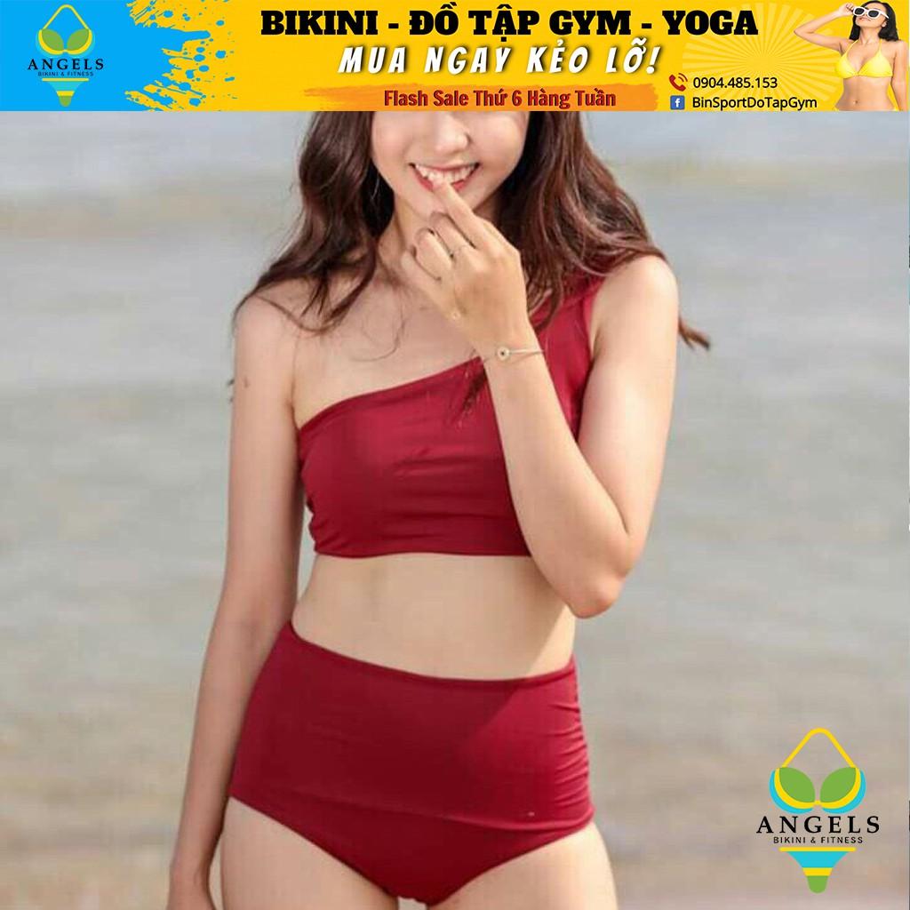 Bikini Lệch Vai, Bộ Đồ Bơi Hai Mảnh BHV023 [ Giá Sỉ ]